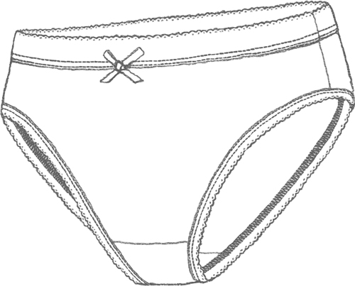 Ladies' panties