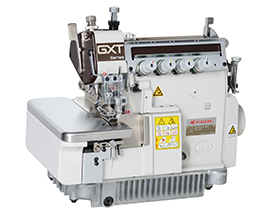 GXT5200 : Dry-head type, Variable top feed, overedgers