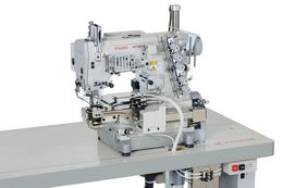 W200P : Small cylinder bed , Interlock stitch machine