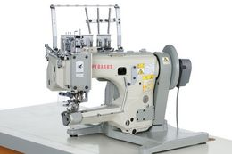 FW600 : Feed-up-the-arm, cylinder bed, interlock stitch machines