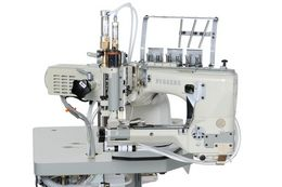 FV200 : Feed-off-the-arm, cylinder bed, double chain-stitch machines for lap seaming