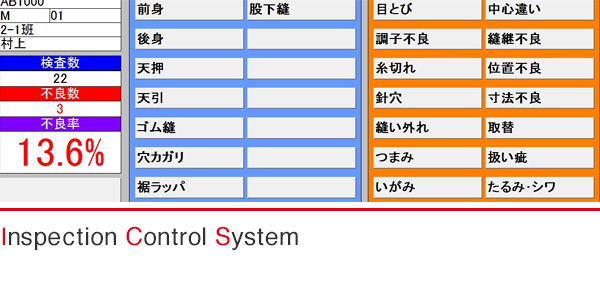 Inspection Control System